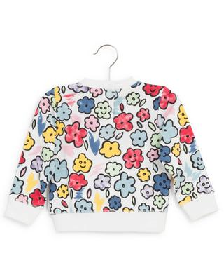 Sweat-shirt en coton fleuri STELLA MCCARTNEY KIDS