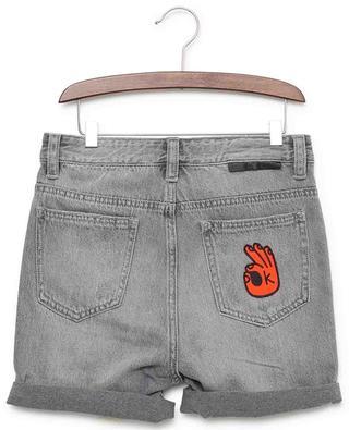 Distressed denim shorts STELLA MCCARTNEY KIDS