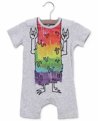 Strampelanzug aus Jersey Rainbow Monsters STELLA MCCARTNEY KIDS
