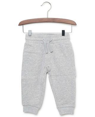 No Probs cotton jersey jogging trousers STELLA MCCARTNEY KIDS