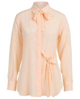 Long silk shirt with ribbons CHLOE