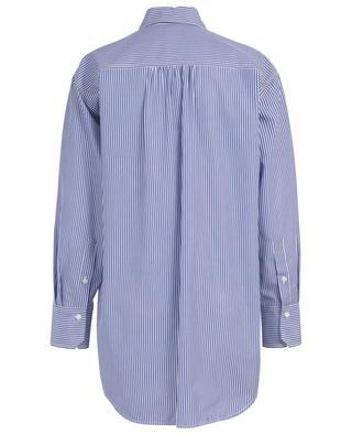 Langes gestreiftes Hemd aus Baumwolle CHLOE