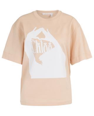 T-shirt boyfriend imprimé Femininity CHLOE