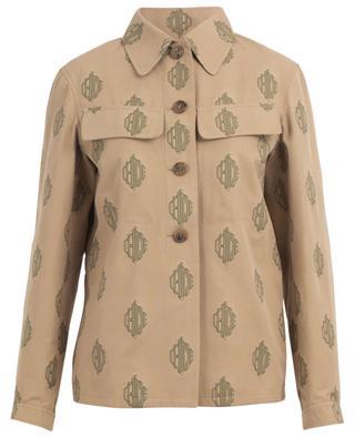 Veste légère esprit chemise en logo-jacquard CHLOE