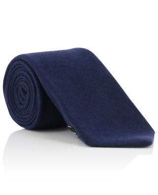 Cravatte en cachemire motif losanges KITON