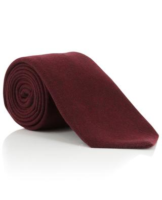 Cashmere tie with diamond pattern KITON