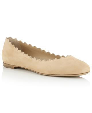 Lauren suede ballet flats CHLOE