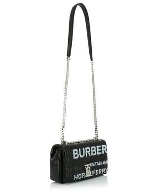Schultertasche aus gestepptem Leder mit Logo Horsferry Small BURBERRY