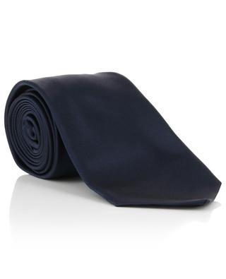 Einfarbige Krawatte aus Seide KITON