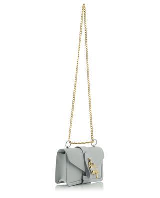 Schultertasche aus genarbtem Leder Aby Chain Mini CHLOE