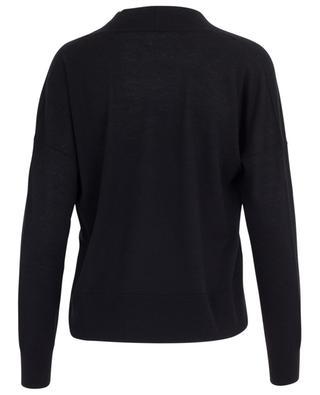 Virgin wool, silk and cashmere V-neck jumper MARC CAIN