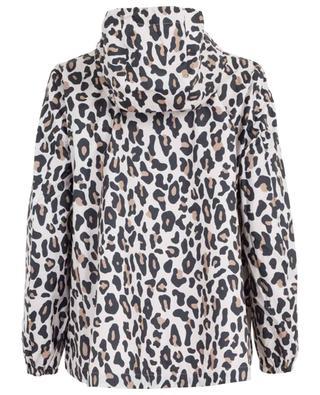 Leopard print light water-repellent jacket MARC CAIN