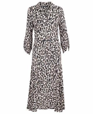 Leopard print midi dress MARC CAIN