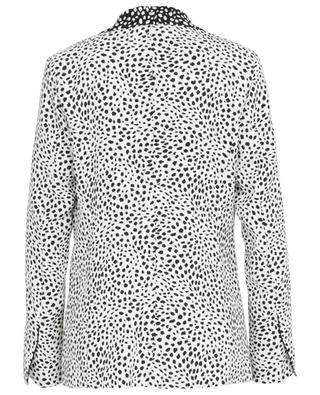 Fliessender Crêpe-Blazer mit Print Leopard Dots MARC CAIN