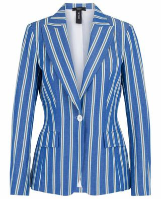 Cotton and linen striped blazer MARC CAIN