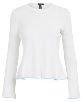 Pullover mit Rundhalsausschnitt aus Viskosemix MARC CAIN