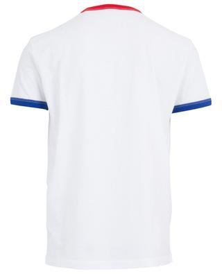 T-shirt en coton imprimé feuille d'érable DSQUARED2