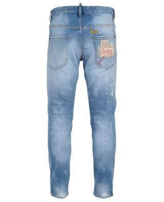 Sakter distressed jeans with stains and rips DSQUARED2