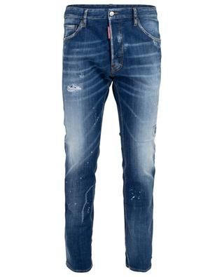 Cool Guy distressed jeans with rips and stains DSQUARED2