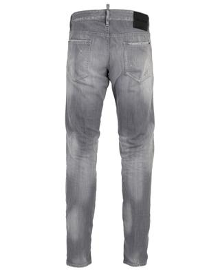 Logo 2 distressed and ripped slim fit jeans DSQUARED2
