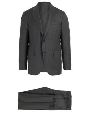Anzug aus Wolle mit Print ERMENEGILDO ZEGNA