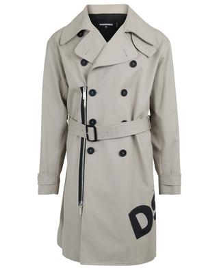 Cotton twill trenchcoat DSQUARED2