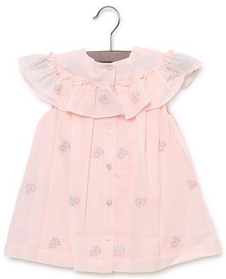 Fleur D'Aurore floral print cotton dress TARTINE ET CHOCOLAT