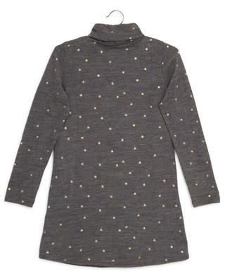 Kleid aus Wollmix mit Sternenprint Hanne AO76