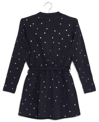 Kleid aus Wollmischgewebe mit Sternenprint AO76