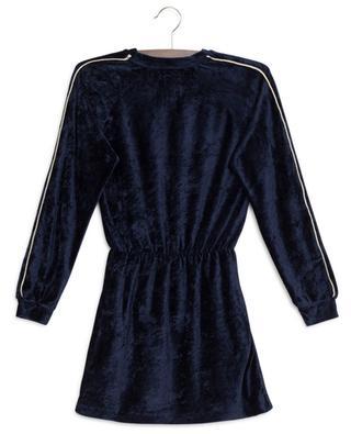 Robe en velours munie de manches ornées de lurex AO76