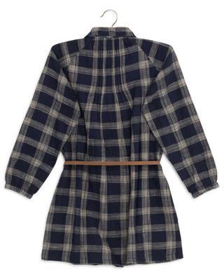 Robe en coton à carreaux Terry AO76