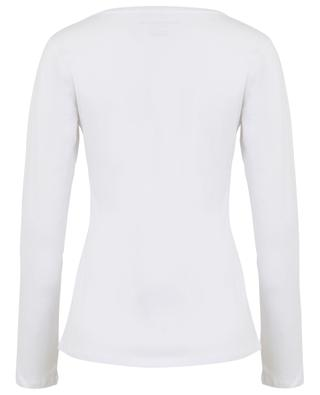 T-shirt manches longues col rond MAJESTIC FILATURES