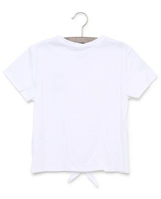 T-Shirt zum Knoten mit Herzstickerei GIVENCHY