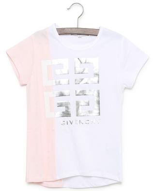 Colourblock-Jersey-T-Shirt mit Logo 4G GIVENCHY