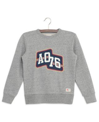 Sweat-shirt en coton imprimé AO76 AO76