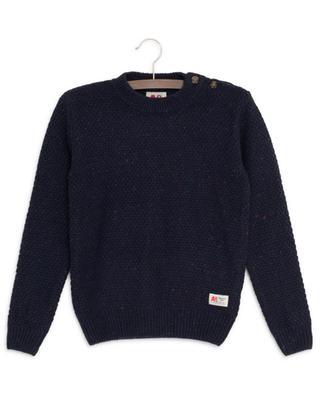 Melierter Pullover AO76