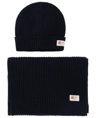 Ensemble bonnet et écharpe AO76