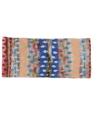 Stirnband aus Lurex mit Print MISSONI MARE