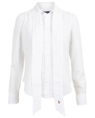 Thick cotton shirt with necktie POLO RALPH LAUREN
