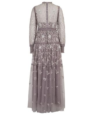Whitethorn Gown long floral sequined dress NEEDLE &THREAD