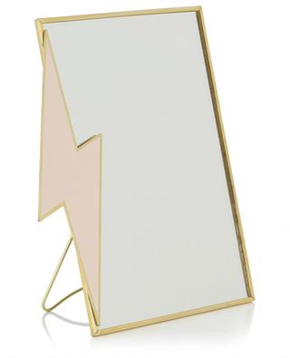 Kleiner rechteckiger Standspiegel Lightning Bolt KLEVERING