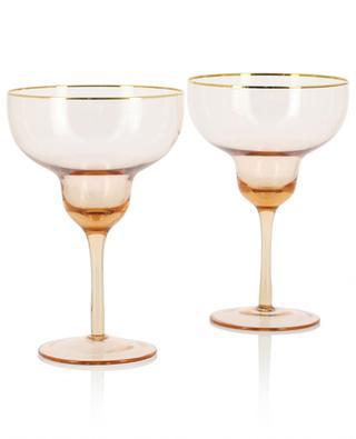 Set aus 2 Margarita-Gläsern KLEVERING