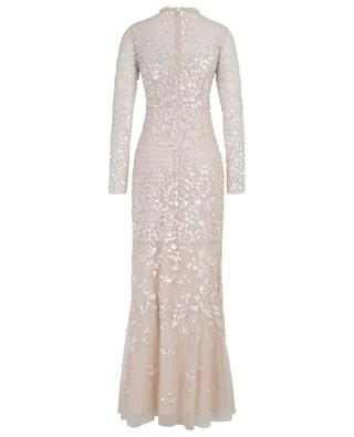 Tempest Gown long sequin embroidered tulle dress NEEDLE &THREAD