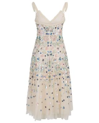 Robe midi en tulle brodé Wildflower Sequin NEEDLE &THREAD
