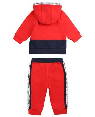 MJ Tape jogging suit with hoodie LITTLE MARC JACOBS