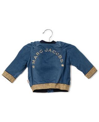 Jeansjacke mit goldenem Lurex Daisy LITTLE MARC JACOBS