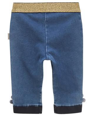 Jeans mit Lurex und Blütenapplikationen Daisy LITTLE MARC JACOBS