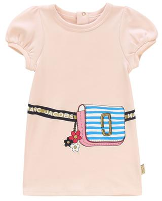 Handbag printed cotton jersey dress LITTLE MARC JACOBS