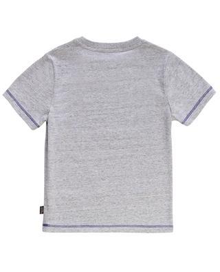 Meliertes T-Shirt mit Print Superhero LITTLE MARC JACOBS