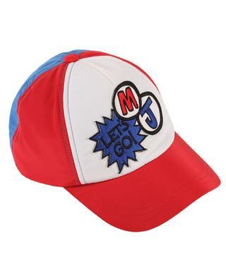 Let's Go tricolour gabardine baseball cap LITTLE MARC JACOBS